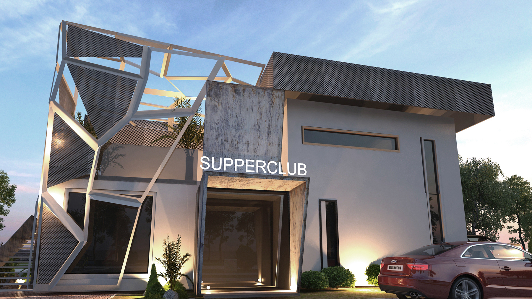 """Super Club"" Duala, Camerun"